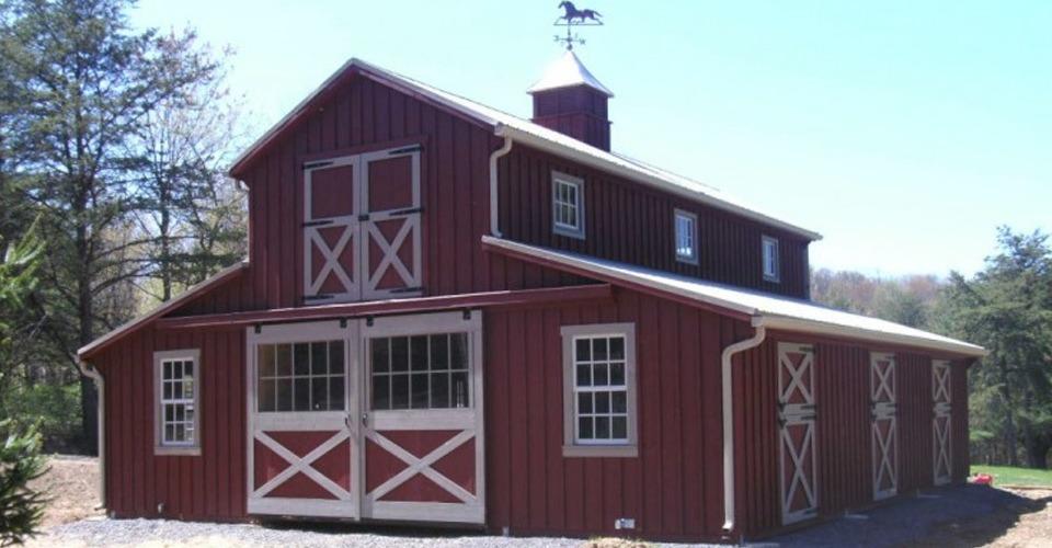 Amish Prefab Barns : Barns amish depot modular