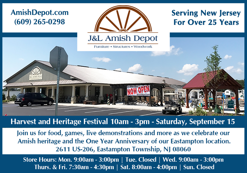 Harvest and Heritage Festival – Saturday September 15th