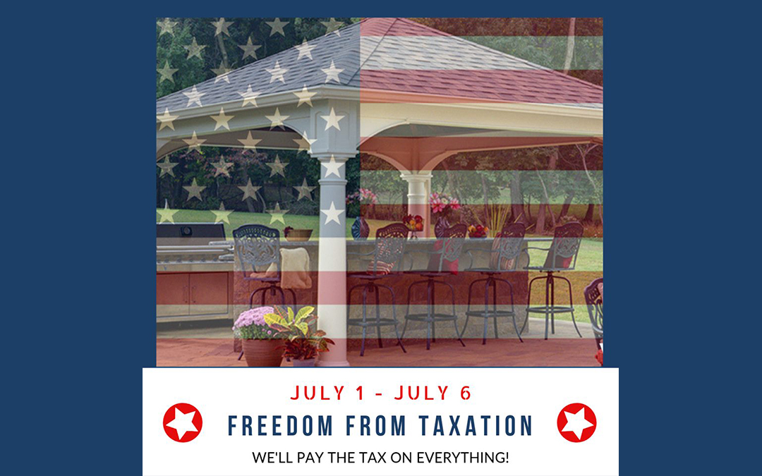 We Pay The Tax – July 1 – July 6, 2019