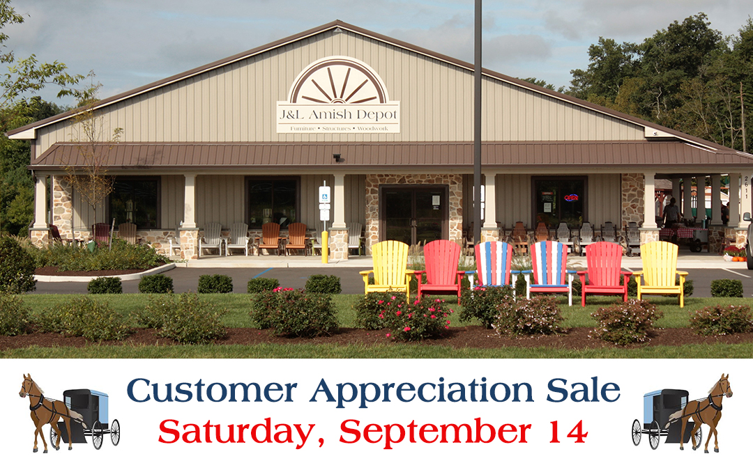Amish Depot Celebrates Anniversary With Customer Appreciation Event