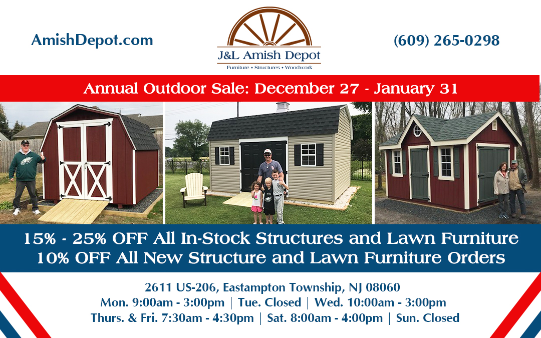 Annual Outdoor Sale Starts December 27