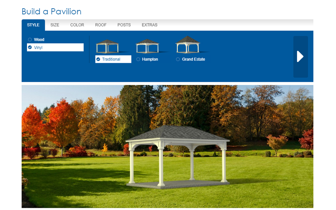 Online Decorative Structure Builders from J&L Amish Depot